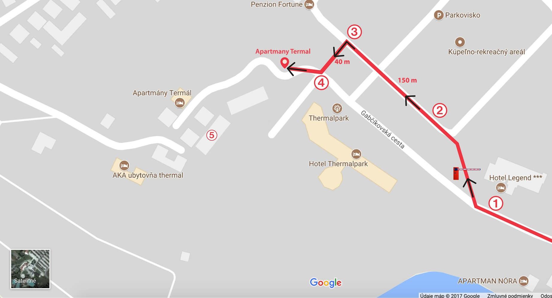 apartmany-termal-dunajska-streda-trasa